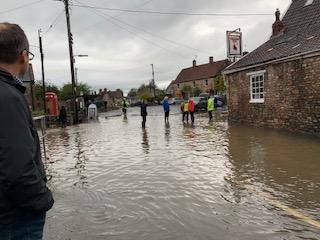 October 4 2020 Croscombe Flood - Croscombe News