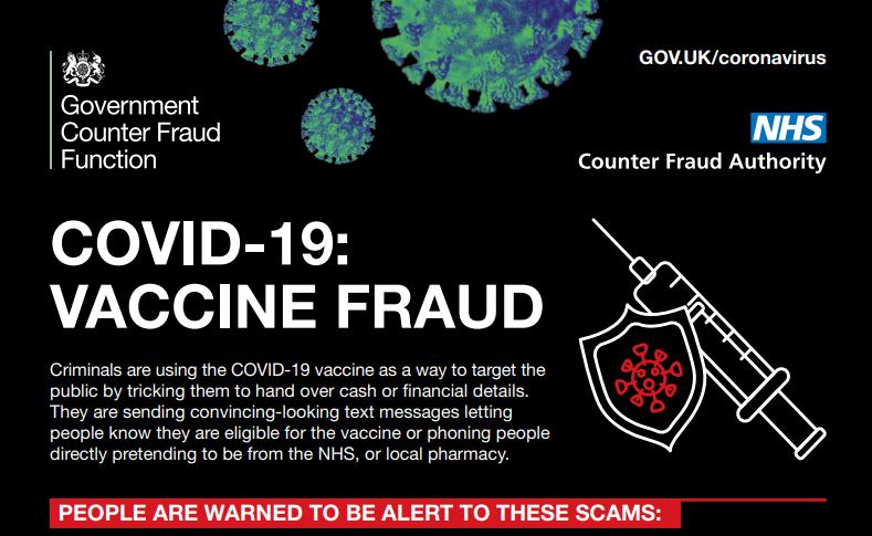 Covid-19: Vaccine Fraud