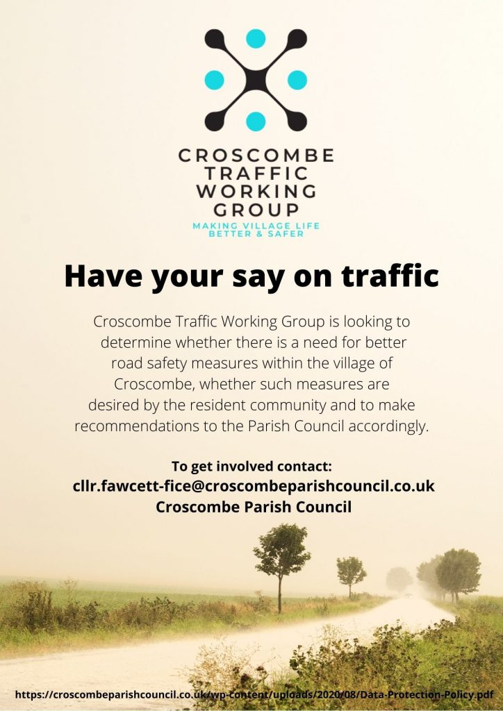 Have your say on traffic - Croscombe News