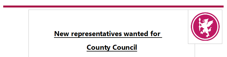 Somerset County Council New - Representatives wanted